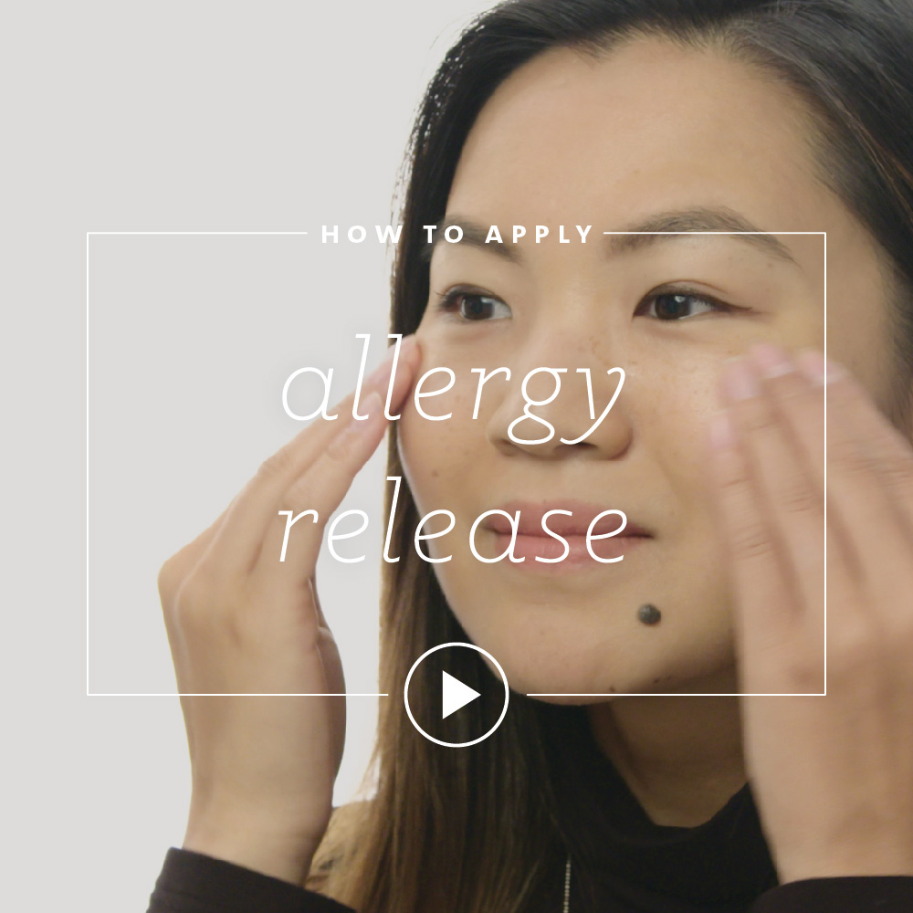 How to Apply Allergy Release