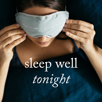 Sleep well tonight with Saje shut eye mask