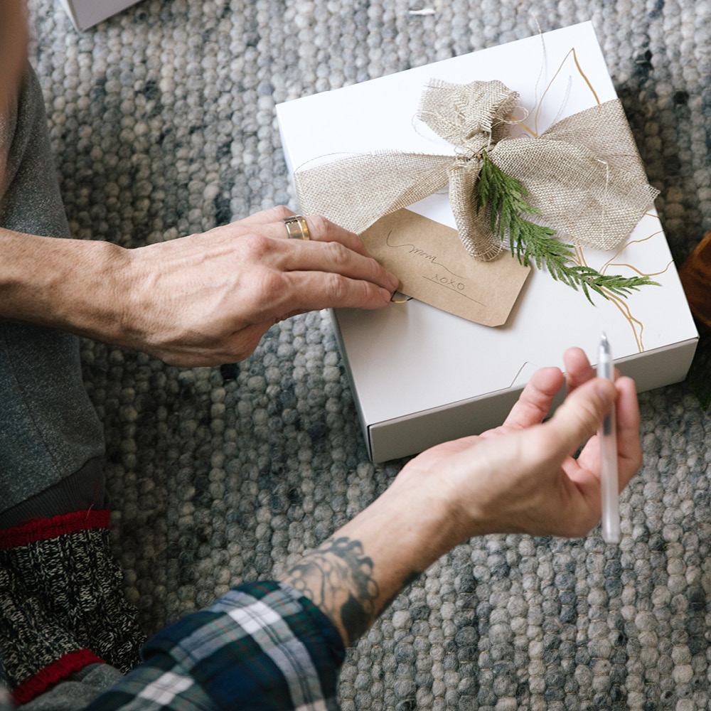 Holiday Wrapping That's Easy on You & the Earth