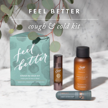 Feel Better Cough and Cold Kit. Essential oils for sinus, cold remedies, essential oils for colds, home remedies for cold, natural cold remedies, immune booster, boost immune system, home remedies for stuffy nose.