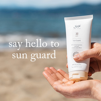 Saje Sunscreen Sun Guard New Formula