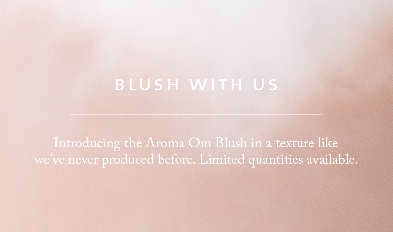 Aroma Om Blush Limited Edition Saje Diffuser
