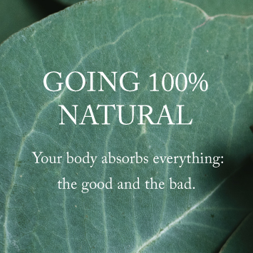 Going 100% Natural