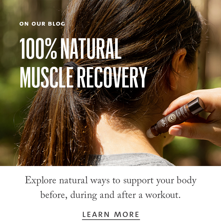 100% natural muscle recovery, explore our blog for natural ways to support your body before, during and after a workout