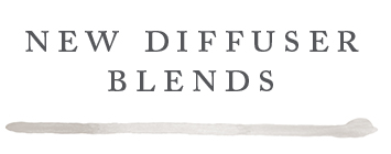 New Diffuser Blends