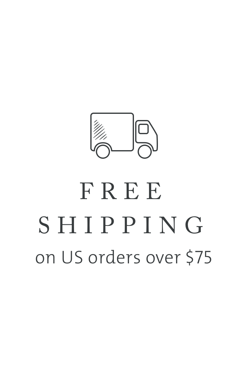 Saje Free Shipping on U.S. orders over $75