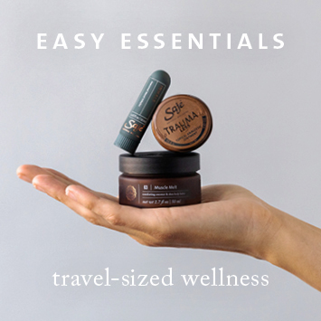 Saje Easy Essentials Travel Size Wellness
