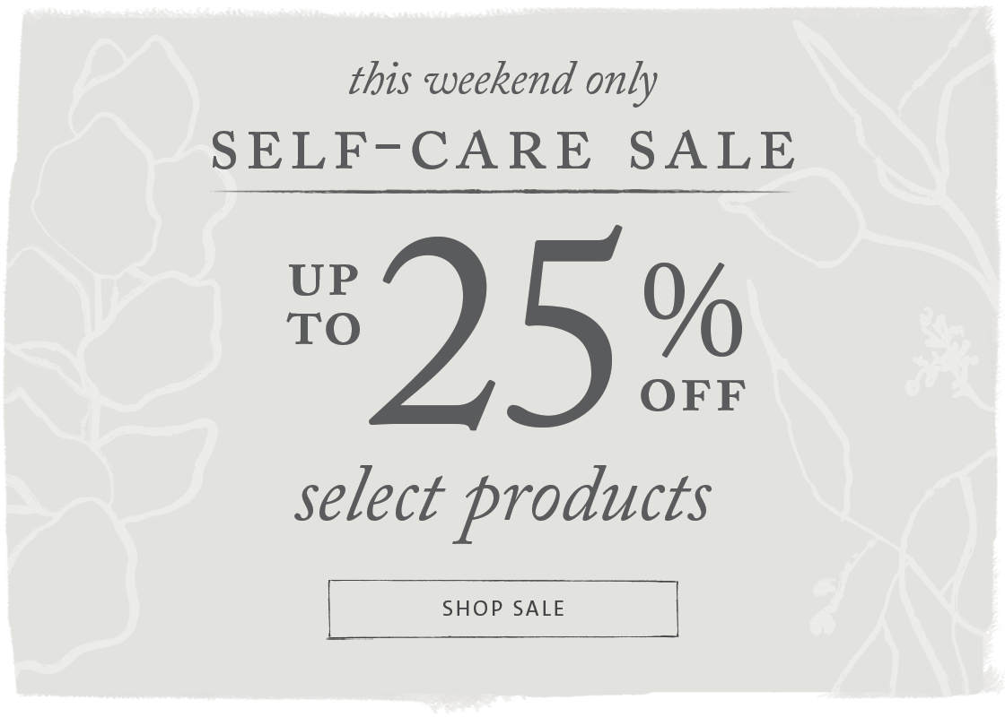 Enjoy up to 25% off select items