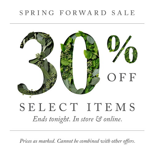 Spring Forward Sale