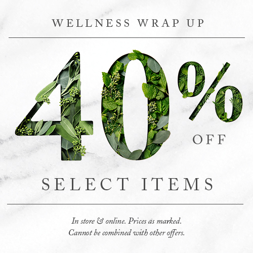 Wellness Wrap Up - 40% off Select Items
