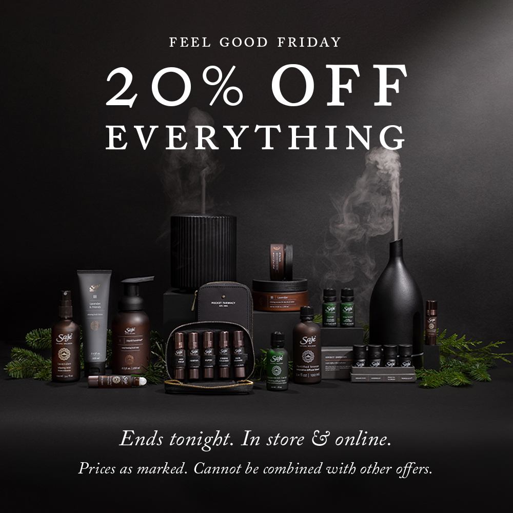 feel good friday - 20% off everything