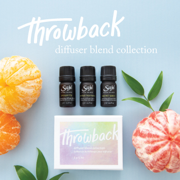 The Throwback Limited Edition Diffuser Blend Collection