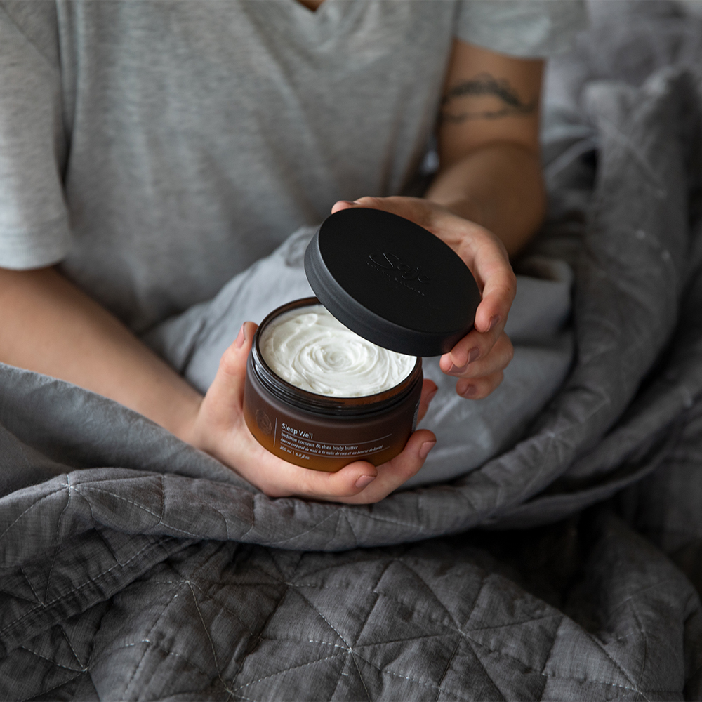 sleep well body butter