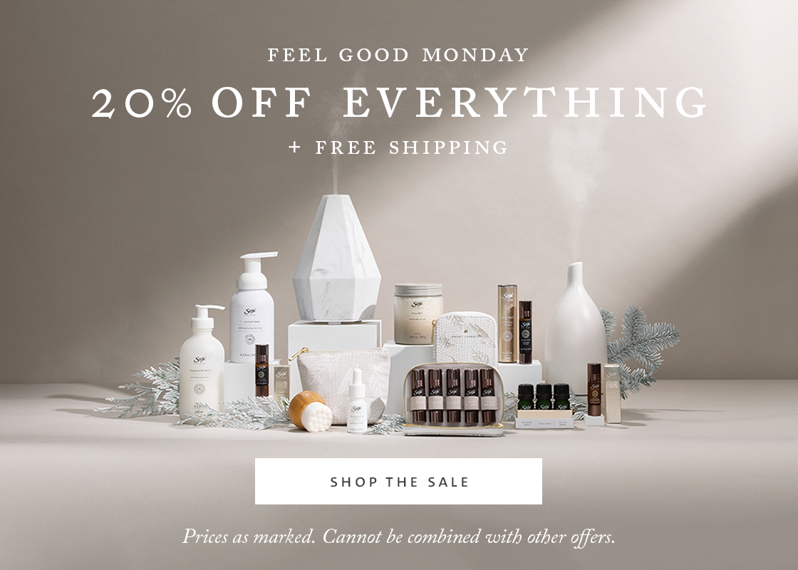 feel good monday - 20% off everything + free shipping
