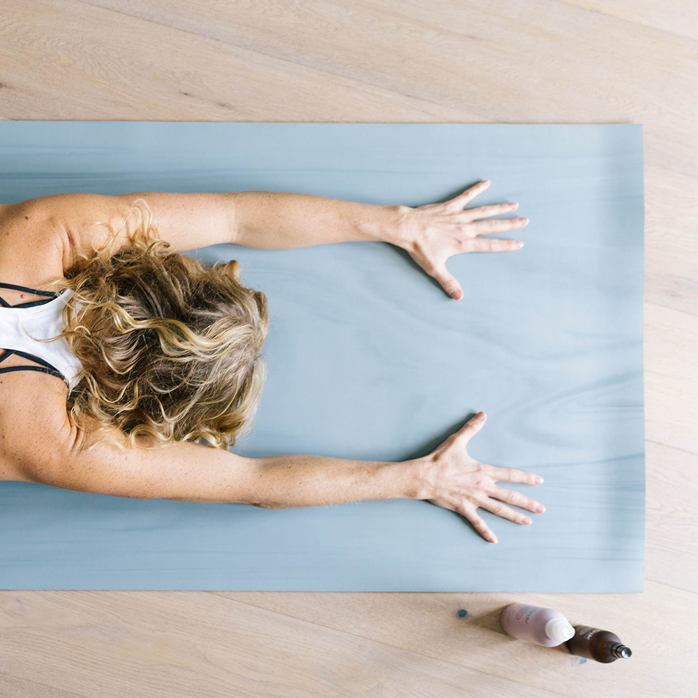 Person doing a Yoga practice