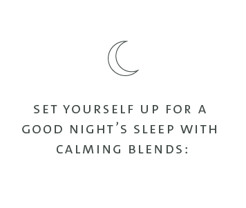 calming diffuser blends, relaxing diffuser blends, night time diffuser blends