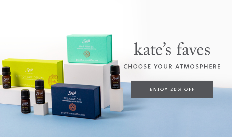 Kate's Faves diffuser blend collections