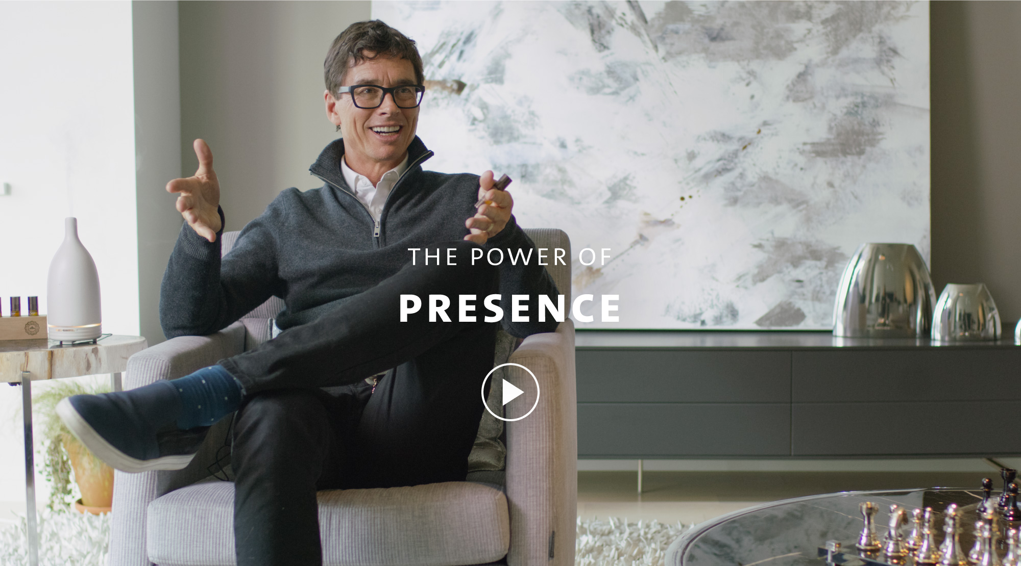 Jean-Pierre explains how being present can transform your life.