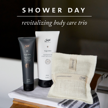 Shower Day Revitalizing Body Care Trio