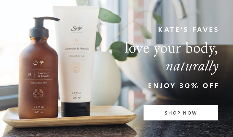 Kate's Faves Love Your Body Naturally