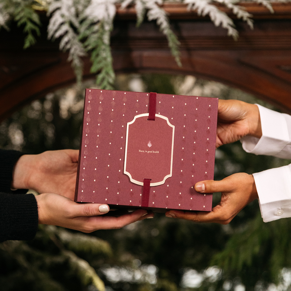 Holiday-ready sustainable gift wrapping