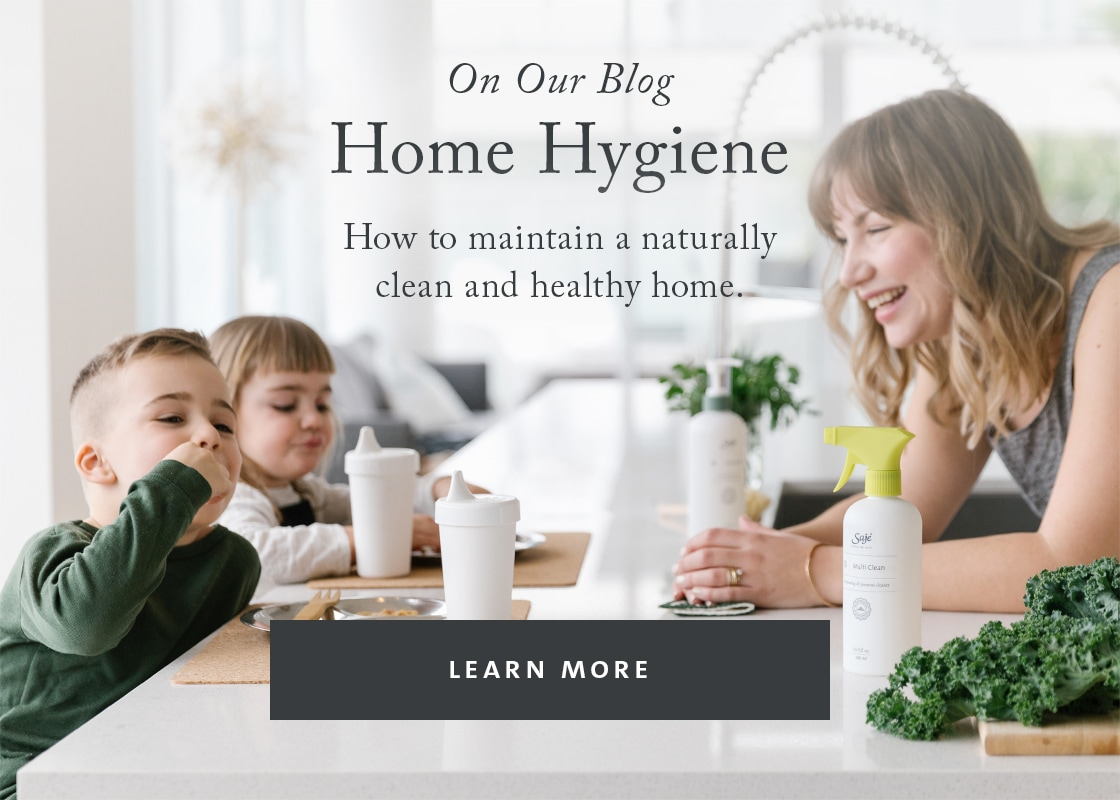 how to maintain a naturally clean and healthy home