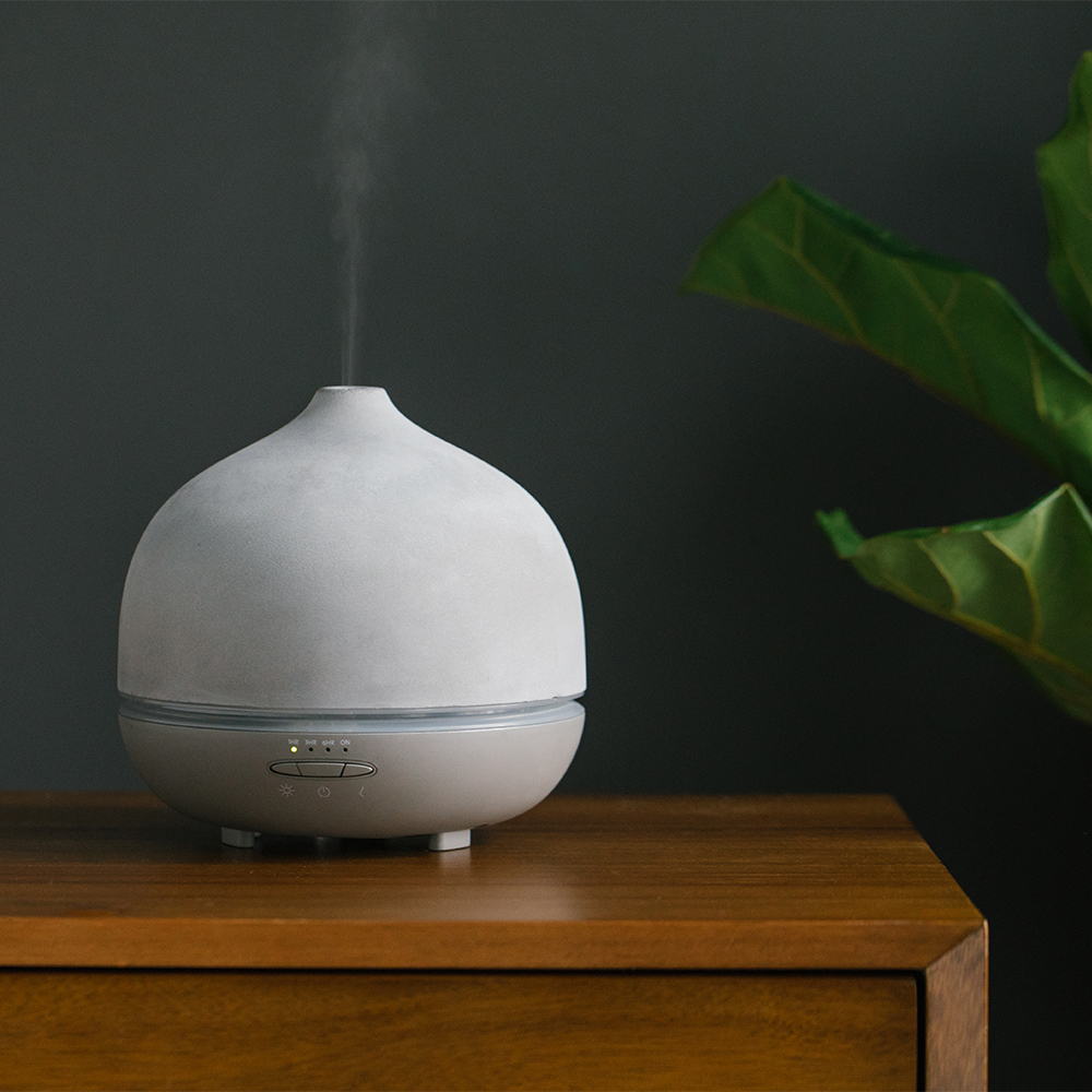 Cement Aroma Om Deluxe Diffuser