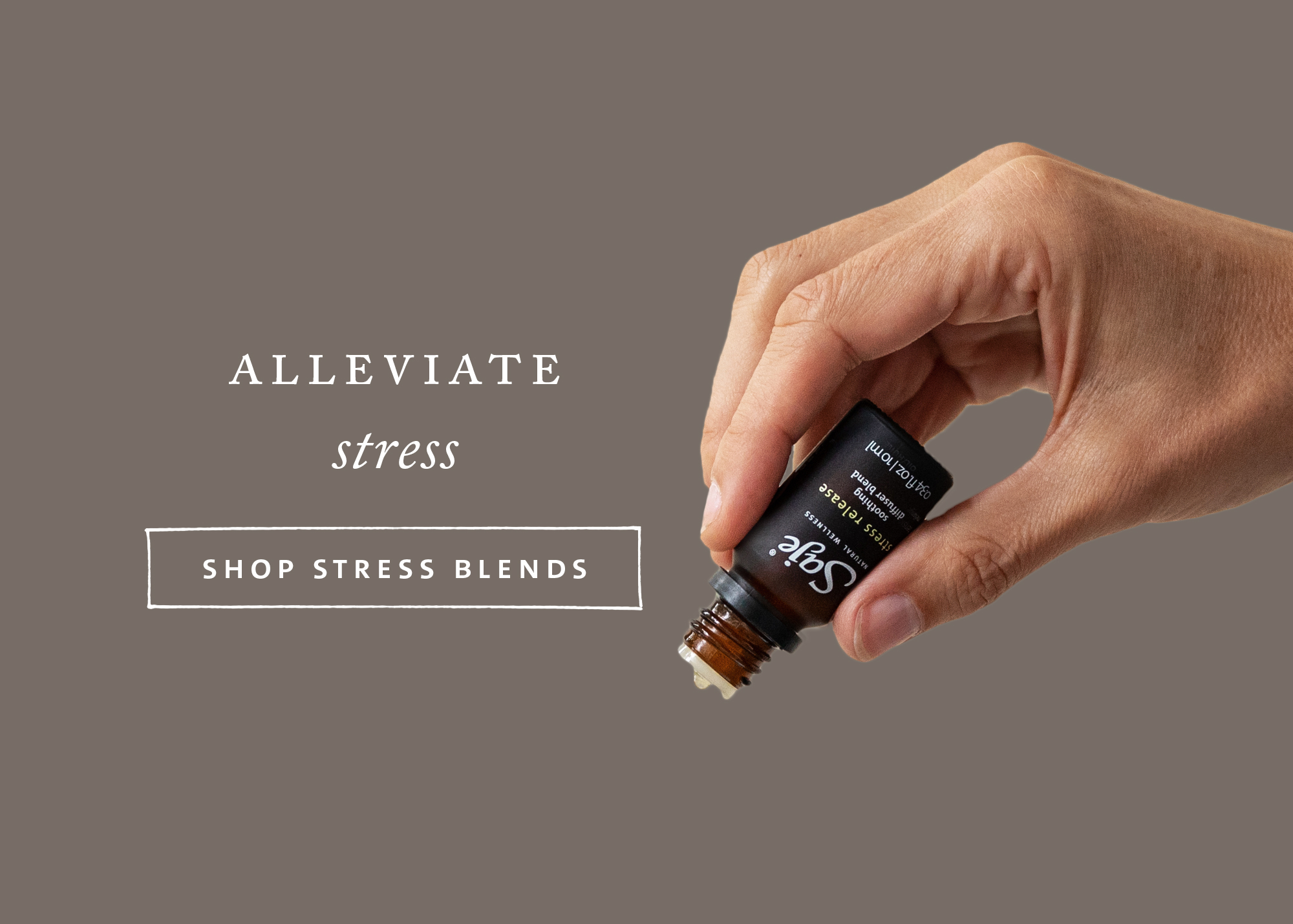 Find your blend to alleviate stress