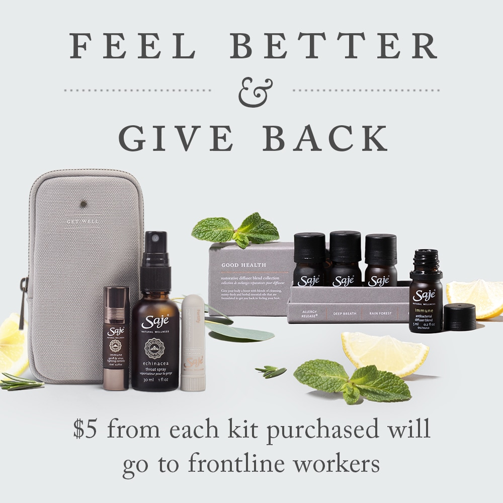 $5 from each kit purchased will go to frontline workers