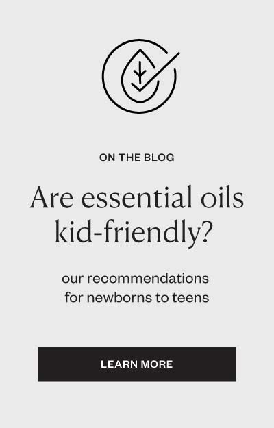 Kids and Essential Oils