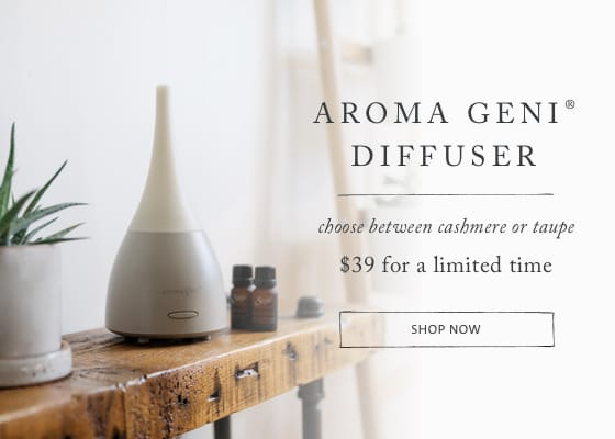 Aroma Geni Diffuser $39 for a limited time